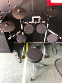 Gear4music dd400 electric electronic digital drum kit set