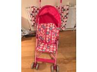 Lightweight Mothercare Stroller/Buggy/Pushchair