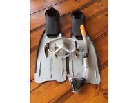 Osprey Snorkelling Set - Including Mask, Snorkel, Flippers & Carry Bag