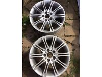 Bmw M Sport Alloy wheel (2 available)