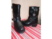 Harley Davidson Ladies Bike Boots Size 4