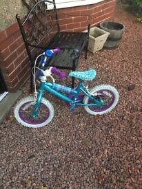 Kids frozen bike 14 inch
