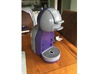 Purple Dolce Gusto Coffee Machine