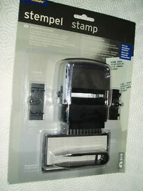 Name & Address Stamp with Ink Pad - Never Used