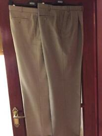 Gents Trousers (2 Pair) - From M&S