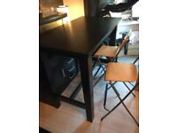 large tall breakfast bar/table and chairs