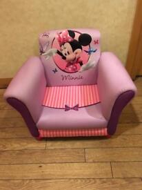 Brand New Disney Minnie Mouse Upholstered Chair