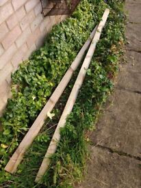 2 rails from a fence for sale