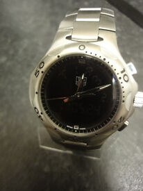 Gents Tag Heuer Pre Owned Watch Stainless Steel Quartz Kirium F1 Ref CL111a