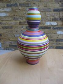 stylish Vase by Design of late Peter AC Bruers (Paul Smith Style)