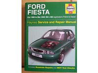 HAYNES,FORD FIESTA manual,1995-2002