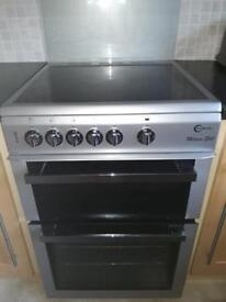 600 wide silver ceramic top cooker £150 guaranteed working mint mint condition