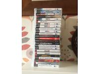 PS3 ,1 controller and 24 games