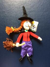 Room on the Broom Witch 15'' Soft Toy