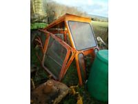 Kubota L225 cab with doors and glass
