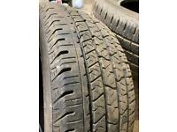 265/60 R18 continental cross contact tyres