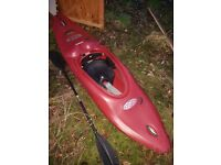 Riot Grind whitewater kayak & accessories
