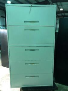 Global 5 Drawer Lateral Filing Cabinet - $299