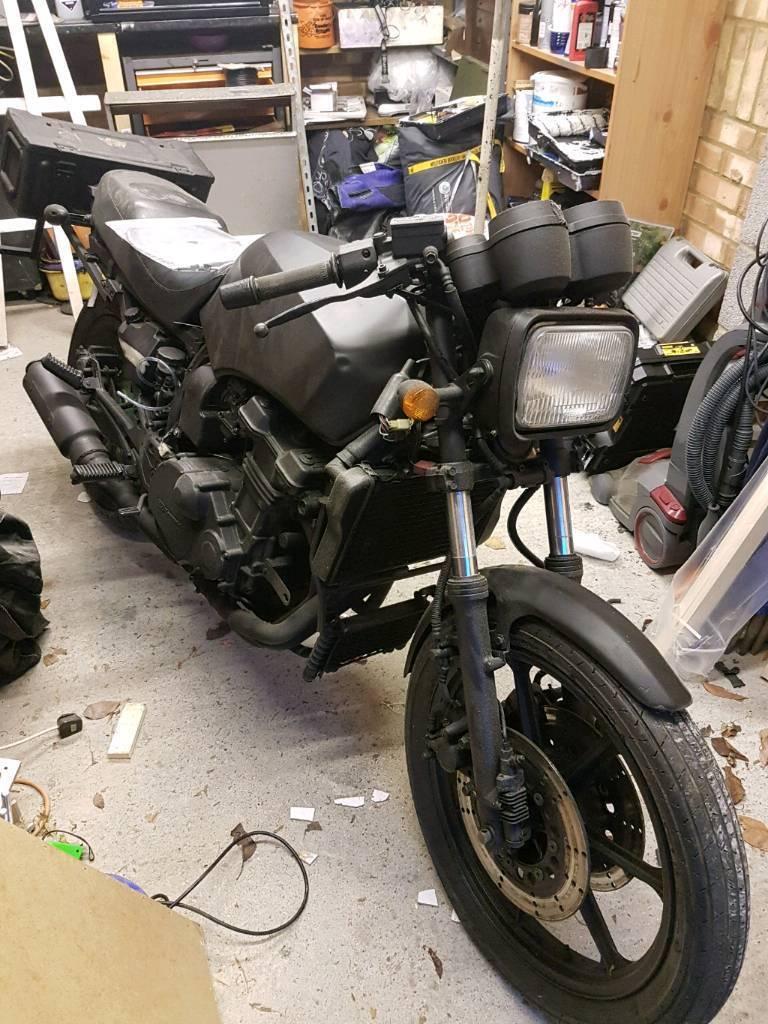 Rat/survival bike/trike project Kawasaki GPZ750 G