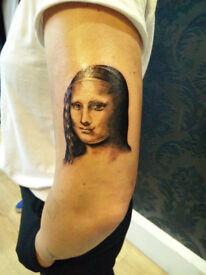 Portrait Tattoo offer - £50 per hour (regular £90ph), Angel @forooz_tattoos