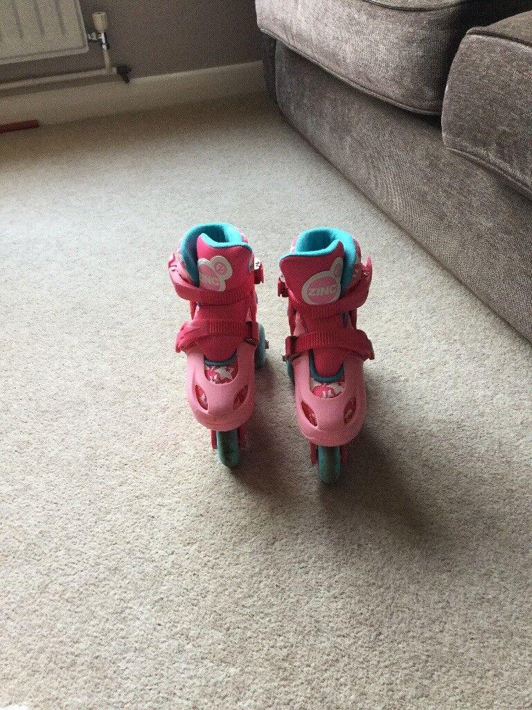 Pink Zinc Tri to Inline Skakes