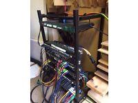 """16U 19"""" Rack Mounting Frame Studiospares Stackrack"""