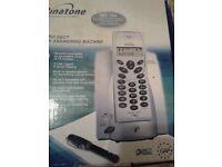 Boxed Digital Cordless phone, answer machine, handsfree speaker,