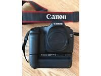 Canon 5D mark I with battery grip