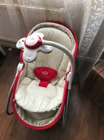 3 in 1 tiny love baby rocker and chair