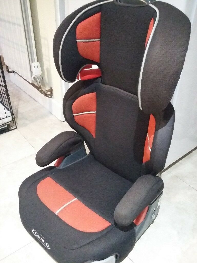 Red And Black Graco Car Seat