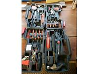 Two 39pce household tool set.