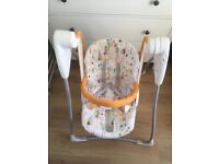 Lovely baby swing, rocking chair