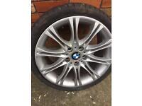 BMW m3 alloy wheel