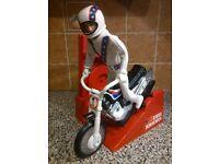 Evel Knievel Dare Devil Stunt Set.