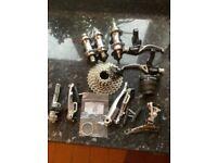 Shimano and Tektro bike parts job lot