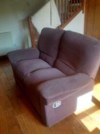 Recline sofa