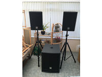 Active powered PA SYSTEM HK Lucas 2000 W