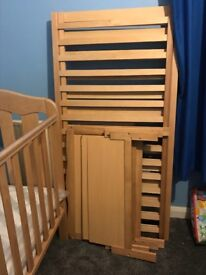Selling my son's cot bed