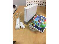 Wii Console with 6 great