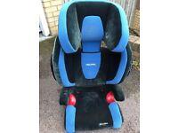 Recaro Monza Nova Car Seat ISOFIX Blue - used
