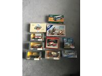 Corgi small collection buses coaches Battle of Britain British railways and James Bond