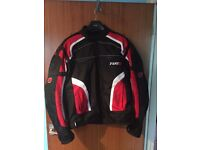 TUZO TZ-44 TERRAIN Textile Jacket! 3XL in Red - AS NEW!