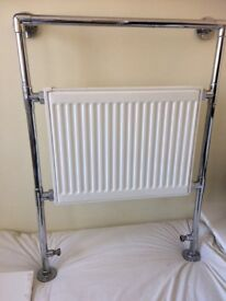 Small heated towel radiator