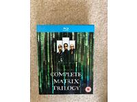 Complete matrix trilogy (Blu-ray)