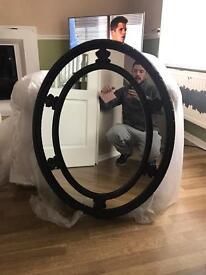 Lovely mahogany style mirror