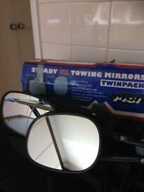 Large Towing mirrors