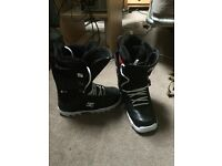 DC phase snowboard boots 7.5uk