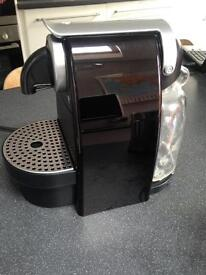 Nespresso coffee machine (Krups) and Aeroccino milk frother