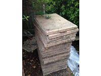 26 paving slabs 60x45