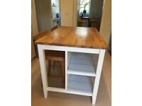 Ikea STENSTORP White/oak kitchen island